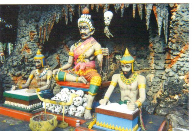 Buddha hell - Chonburi