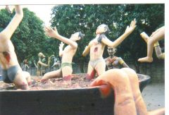 tortures of Buddhist hell - Chonburi Buddha park